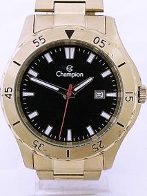 Relogio Champion Dourado Masculino Ca31337