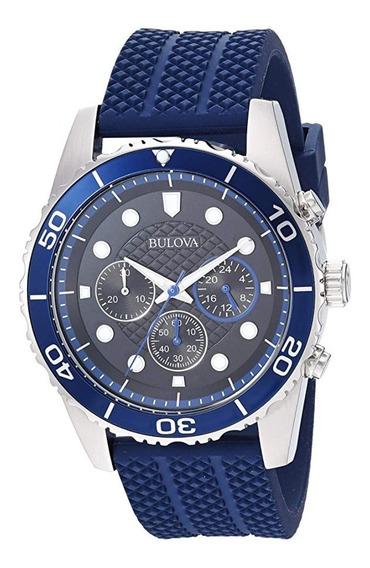Relógio Bulova Cronógrafo (98a190)