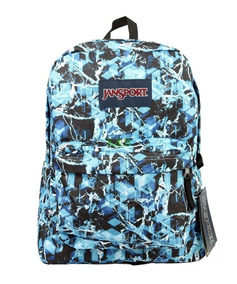 Mochila Jansport Superbreak Multi Blue Ice - Gelo 25l