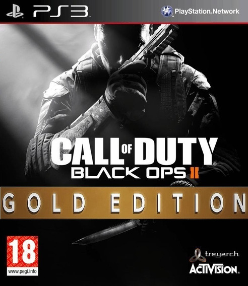 Cod Black Ops Ii Gold Edition Ps3 Ingles Midia Digital Psn.