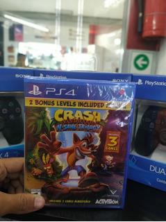 Crash Bandicoot Ps4. ¡ Nuevo, Sellado !