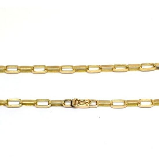 Cordão Masculino Ouro 18kl 750 Maciço Corrente 20 Gramas