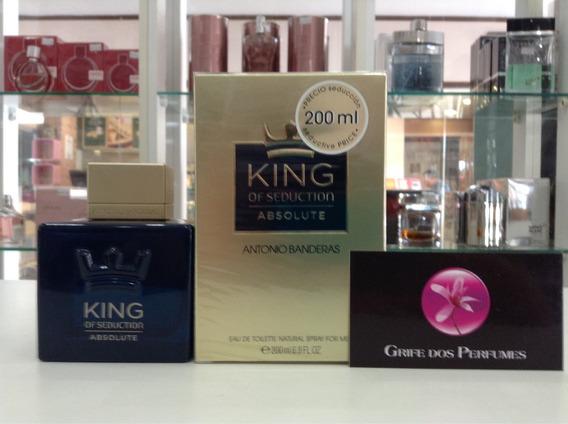 Perfume King Of Seduction Absolute Edt200ml Antonio Banderas