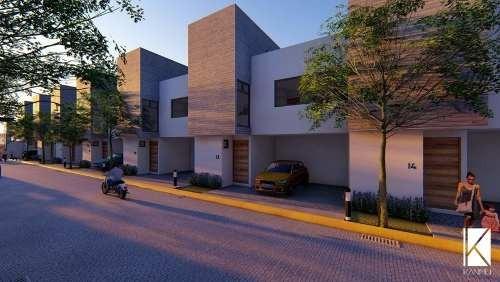 Se Vende Casa Dentro De Un Desarrollo Innovador De 14 Modernas Casas En Privada, San Mateo Atenco