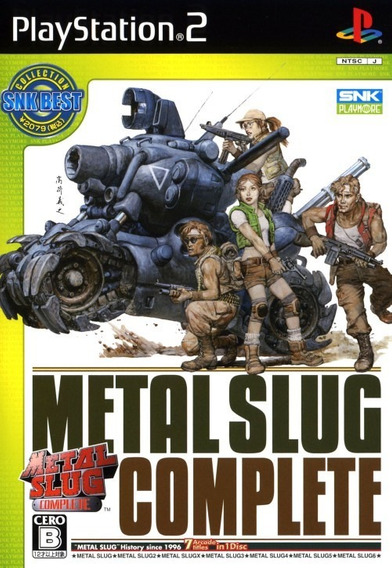 Metal Slug Anthology - Ps2 - Frete R$ 12,00