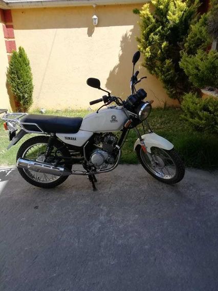 Yamaha Modelo Yb125 Colpr Blanco