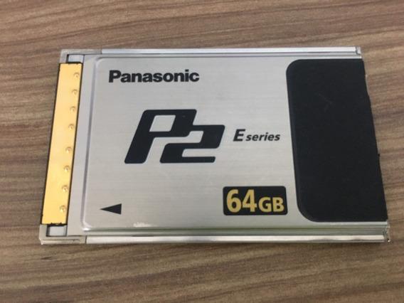 Cartão De Memória Panasonic P2 64gb Aj-p2e064xmc Promoção