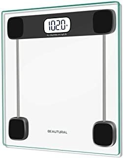 Beautural Precision Digital Body Weight Bathroom Scale With