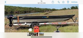 Barco Aluminio Pety Brasil Amazonas 600 Sl