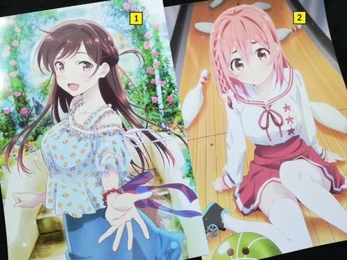 Posters A3 29x42cm Anime Kanojo Okarishimasu #1 / Niponmania