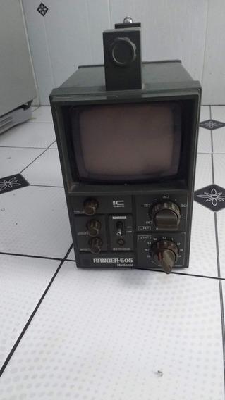 Rádio Tv Portátil National Transitor Tr505 1970 Lindo