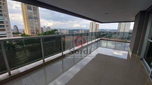 Apartamento À Venda, 348 M² Por R$ 2.300.000,00 - Residencial Morro Do Ipê - Ribeirão Preto/sp - Ap3303