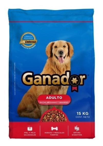 Alimento Para Perro Ganador Adulto 15 Kg