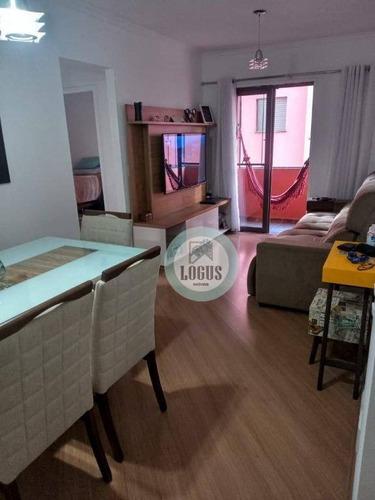 Imagem 1 de 16 de Apartamento Com 2 Dormitórios À Venda, 67 M² Por R$ 295.000,00 - Nova Petrópolis - São Bernardo Do Campo/sp - Ap1724