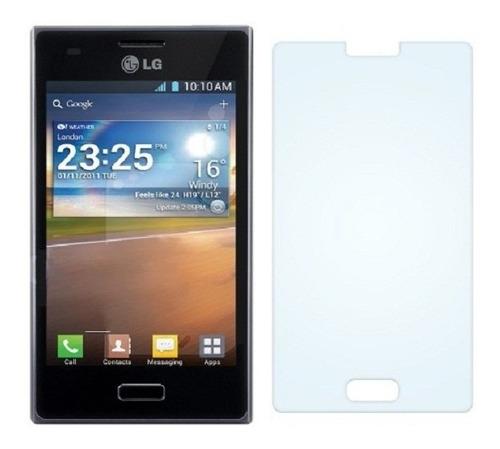 Lamina LG Optimus L5 Dual E455 Y LG L65 D285 Pantalla Transp