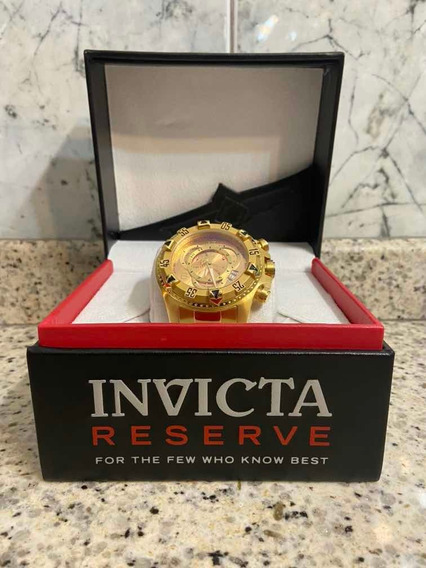 Relógio Invicta Gold Edição Especial! Com Caixa De Luxo!!