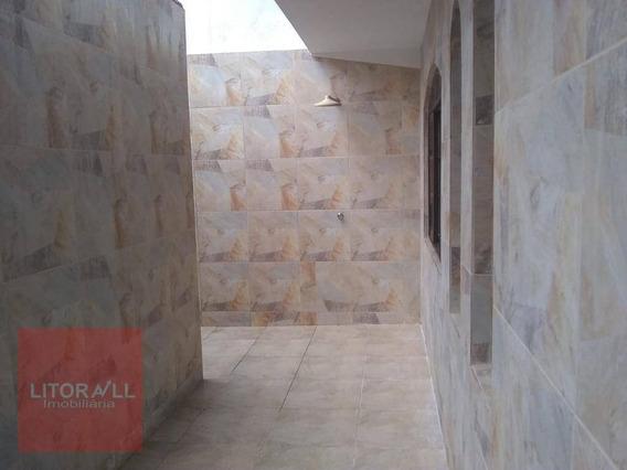 Sobrado Com 2 Dormitórios Para Alugar Por R$ 900,00/mês - Jardim Corumbá - Itanhaém/sp - So0381