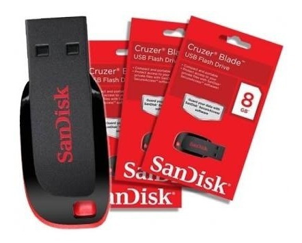 Pendrive Sandisk 8gb - Baixo Preço