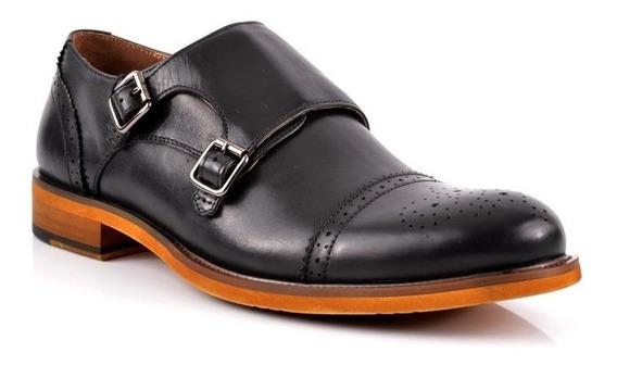 Zapato Stork Man Cain Negro