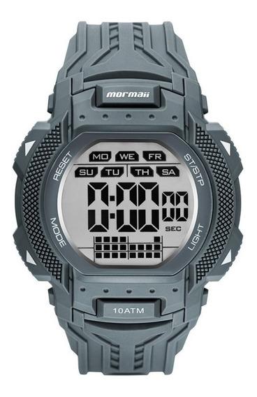 Relógio Mormaii Masculino Action Cinza Original Mo18779ab/8a