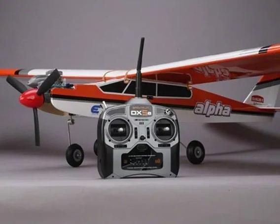 Avião Alpha 40 Sem Uso Completo Com Radio Combinar Retirada