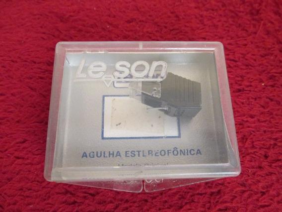 Agulha Toca Discos Pc 100 Diamante Frete Grátis