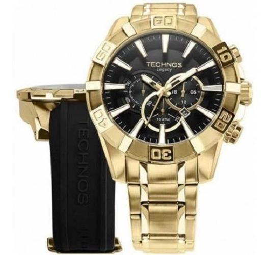 Relógio Masculino Banhado A Ouro Original Os2aajac/t4p