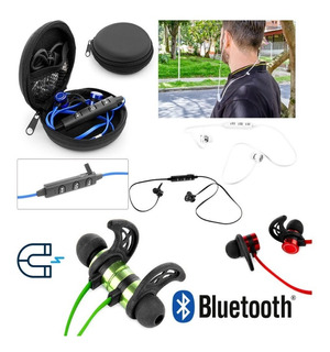 Audífonos Bluetooth Magnet - Audífonos Imantados Con Estuche