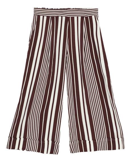 Pantalón Pijama De Mujer C&a Con Estampado Rayas