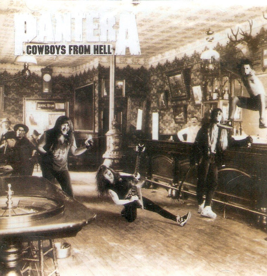 Cd Pantera - Cowboys From Hell - Novo Lacrado***
