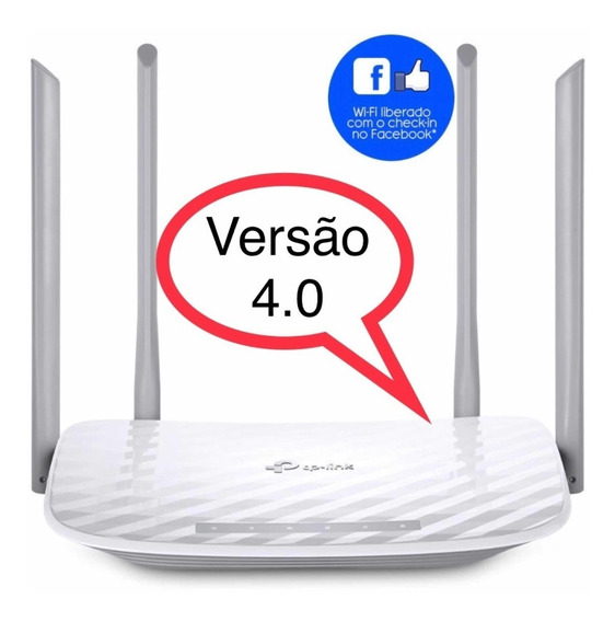Tp-link Archer C50(br) Router Ac1200 Dual Band 4 Ant V4