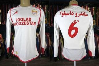 Foolad Do Irã Camisa Titular Tamanho G Mangas Longas # 6.