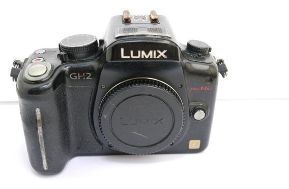 Câmera Panasonic Lumix Gh2 Corpo Com Defeito ,não Funciona