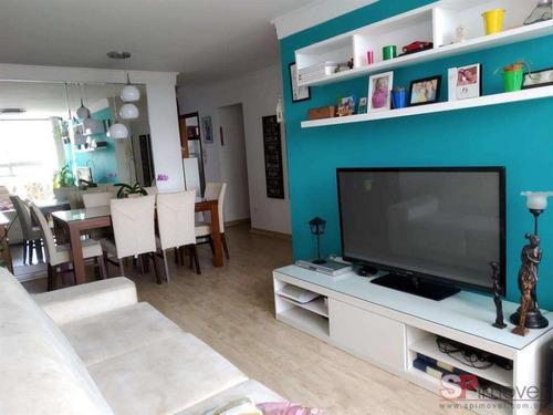 Imagem 1 de 17 de Apartamento Para Venda Com 76 M² | Jardim Independência| São Paulo Sp - Ap363684v