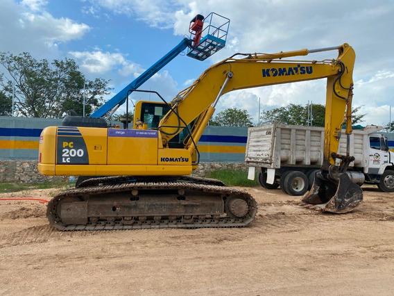 Excavadora Komatsu Pc200 Kit Hid 2016 5000 Hrs