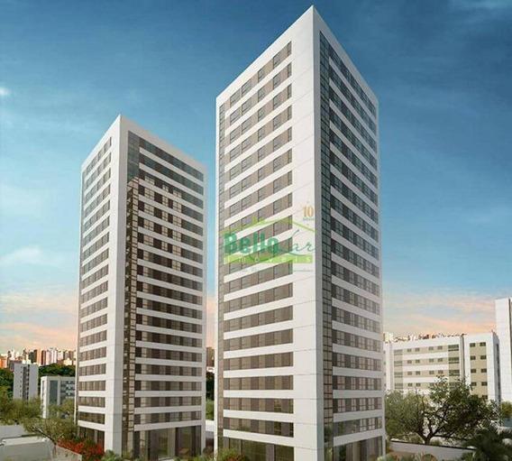 Apartamento Com 1 Dormitório Para Alugar, 34 M² Por R$ 2.500/mês - Parnamirim - Recife/pe - Ap3238