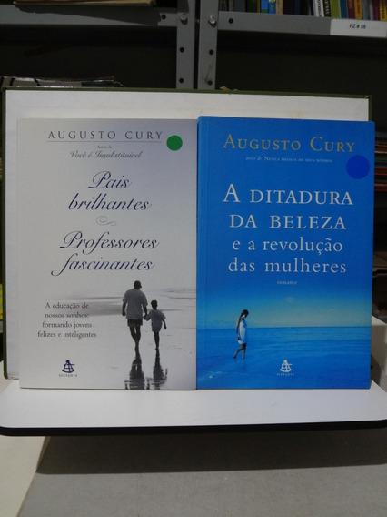 2 Livros Augusto Cury Ditadura Da Beleza Pais Brilhantes ..
