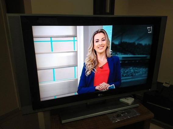 Tv Lg 42 Raridade, Lcd Plasma,pip,pouco Uso E 2 Som Lateral