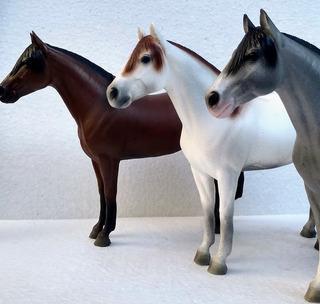 Miniatura Cavalo Em Resina