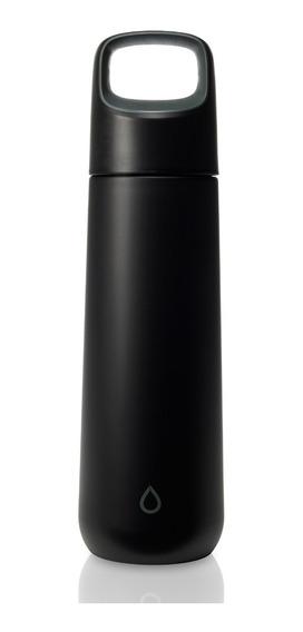 Botella Reutilizable Acero Inoxidable 750 Ml Pura Kor Vida Onyx Tapa Rosca | Zero Waste | Hidratación Sustentable