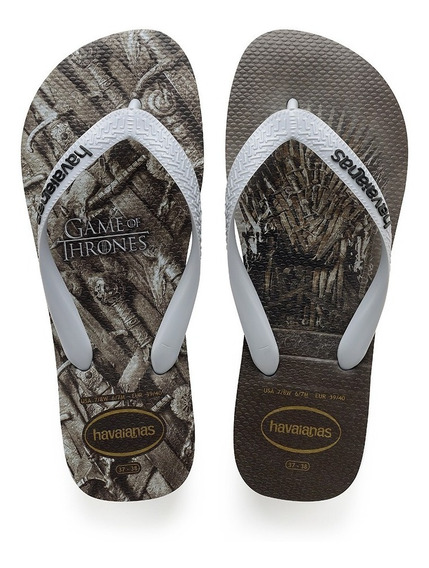 Chinelo Havaianas Game Of Thrones Cinza Colecao 2019