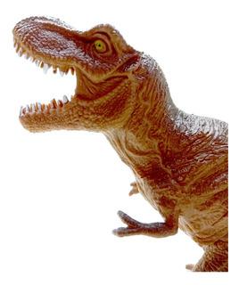 Dinosaurio Goma N60 Tyranosaurio Rex Medio 20cm Dino Juguete