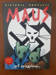 Livro Hq Maus - A História De Um Sobrevivente