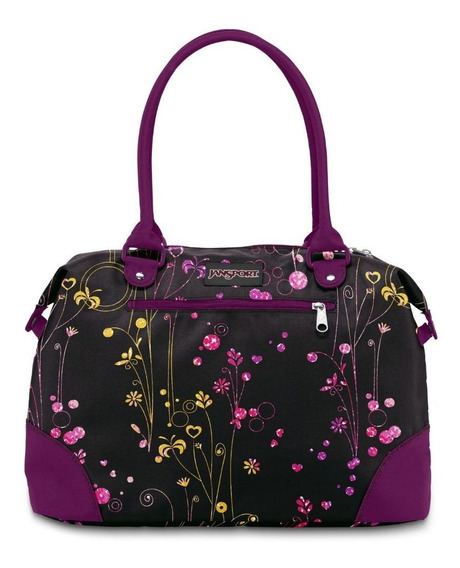 Cartera jansport travel tote Negra