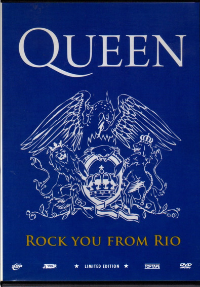 Queen - Rock You From Rio / Dvd Original