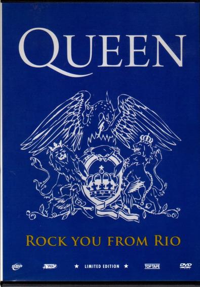 Queen - Rock You From Rio / Dvd Original