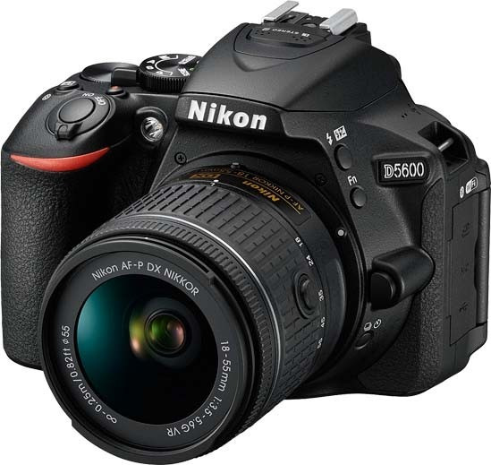 Nikon D5600 Kit 18-55mm Vr - 24mp