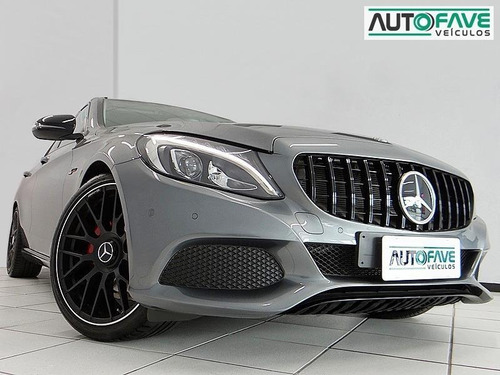 Mercedes-benz C 180 C180 1.6 Cgi Flex Avantgarde 4p Automáti