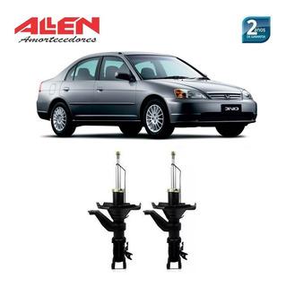 02 Amortecedor Dianteiro Honda Civic 2003 2004 2005