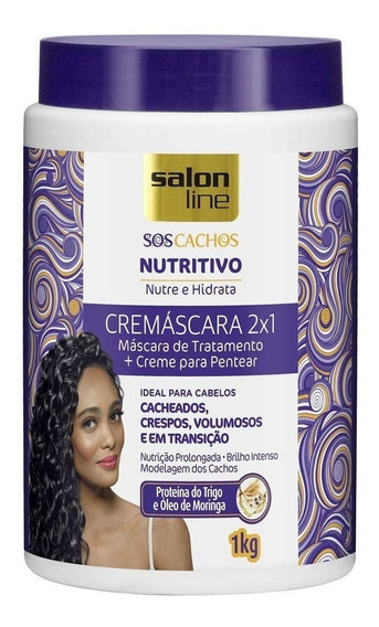 Ativador De Cachos Sos Nutritivo 2x1 Salon Line 1kg